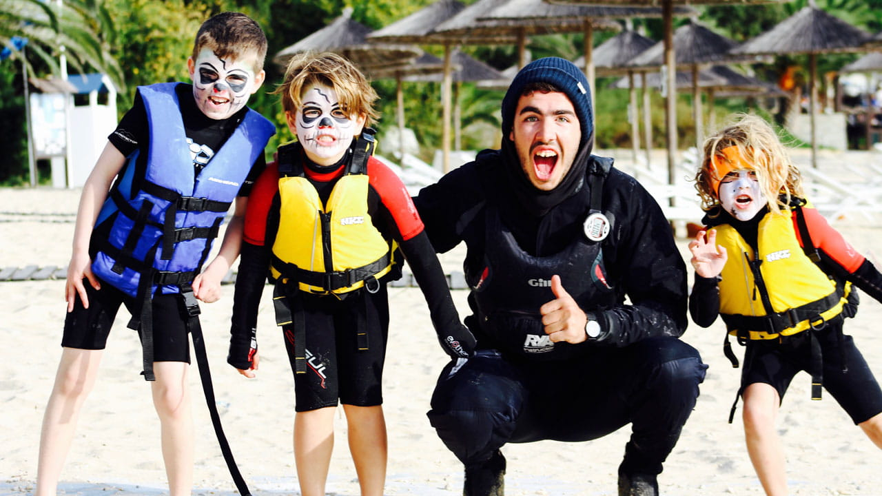 Voyagers on the Aqua Explorers programme