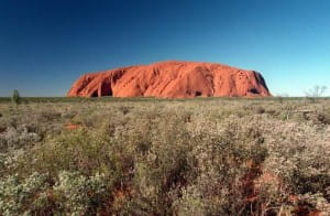 Uluru could be one of the new wonders of the world