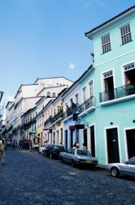 Salvador is the capital of the north-eastern Brazilian region, Bahia