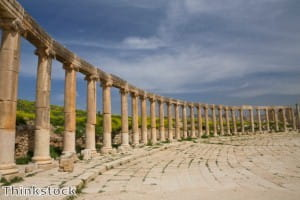 See the incredible ancient architecture of Jerash