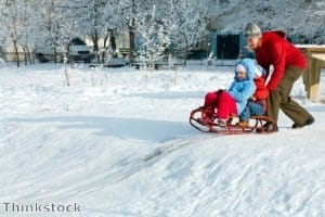 Tobogganing in St Anton 'great for all ages'