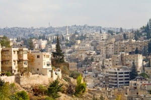 Tradition and modernity side-by-side in Amman